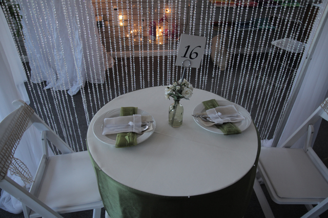 Canopy, Table, Chairs Rentals
